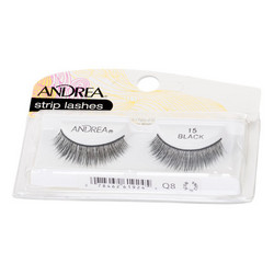 ANDREA Strip Lashes Style 15 Nauharipset