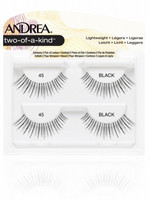 ANDREA Strip Lashes Style 45 Nauharipset 2paria