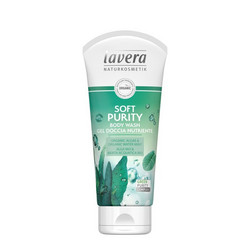 LAVERA Soft Purity Body Wash Puhdistava Suihkugeeli 200 ml