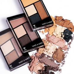 WET N WILD Color Icon Eyeshadow Quads Luomiväripaletit 4,5g