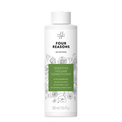 FOUR REASONS NO NOTHING Sensitive Volume Hajusteeton Hoitoaine 300ml