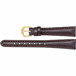 WANTON Brown Leather Calf Nahkaranneke