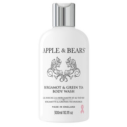 APPLE & BEARS Bergamot & Green Tea Body Wash Vartalonpesuaine 300ml