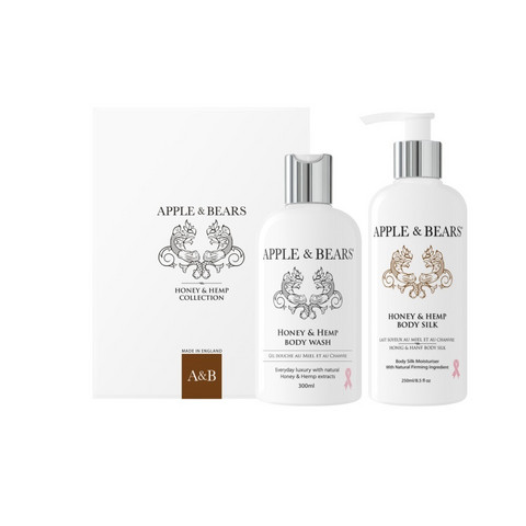 APPLE & BEARS Honey & Hemp Luxury Body Care Lahjapakkaus