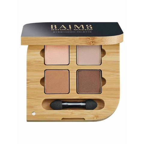 BAIMS Eyeshadow Quad Palette 02 Mother Earth Luomiväripaletti 5,6g