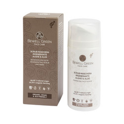 BEWELL GREEN Regenerating Scrub and Mask Kuoriva Kasvonaamio 100ml