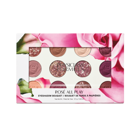 PHYSICIANS FORMULA Rosé All Play Eyeshadow Bouquet Rosé Luomiväripaletti 13,7g