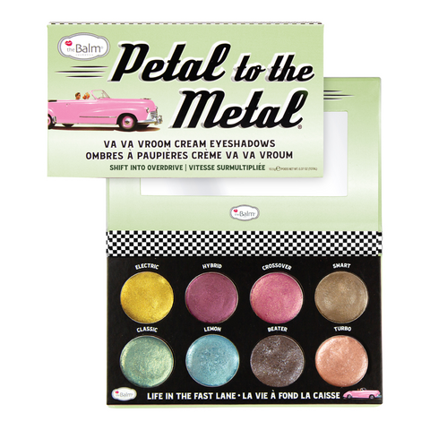 THEBALM Petal To The Metal Shift Into Overdrive Luomiväripaletti 10,5g