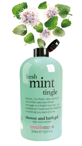 TREACLEMOON Fresh Mint Tingle Shower & Bath Gel suihkugeeli 500ml