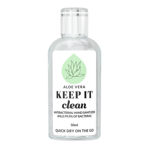 KEEP IT Hand​ Sanitizer Aloe Vera Käsidesi 50 ml