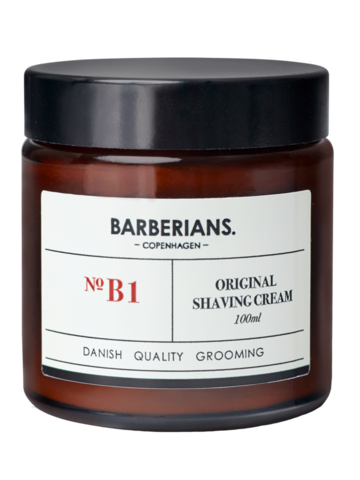 BARBERIANS Shaving Cream Hoitava Parranajovoide 100ml