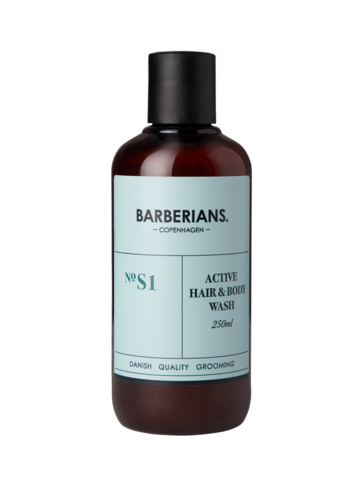 BARBERIANS Hair & Body Wash Hellävarainen Suihkugeeli & Shampoo 250ml