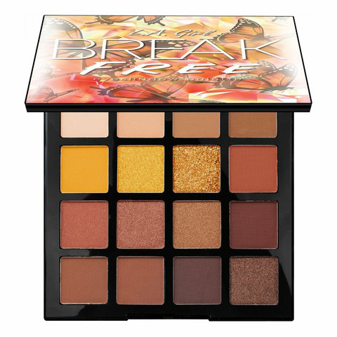 L.A. GIRL Break Free Eyeshadow Palette Be You Luomiväripaletti