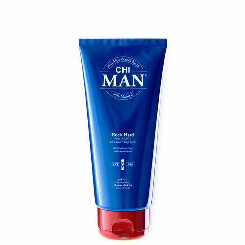 CHI MAN Rock Hard Firm Hold Gel Voimakaspitoinen Hiusgeeli 177ml