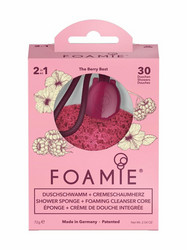 FOAMIE Shower Sponge The Berry Best Puhdistussieni 72 g