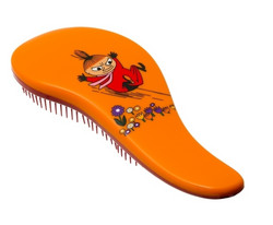 MUUMI Hair Brush For Detangling, Little My Pikkumyy Selvitysharja