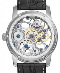 SELVA Hand Winded Skeleton Watch, Miesten Rannekello.