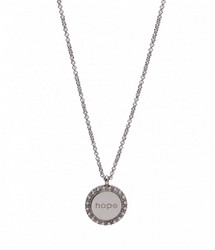 BUD TO ROSE HOPE Short Necklace Steel Kaulakoru 42cm