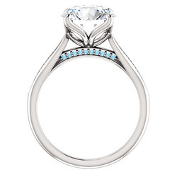 ELLEN AAVA THE QUEEN Timanttisormus Platina 4,33ct
