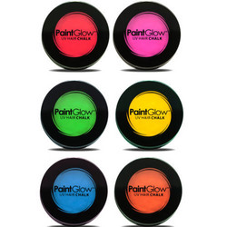 PAINTGLOW UV Neon Hair Chalk Hiusliidut 3,5g