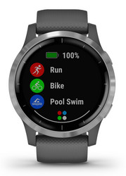 GARMIN VIVOACTIVE 4, SHADOW GRAY/STAINLESS GPS-Älykello