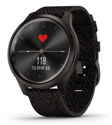 GARMIN VIVOMOVE STYLE, 42MM, GUNMETAL-DARK GRAY Hybridiälykello
