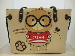 CREAM BEAR Wonderful Laukkusetti Beige