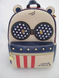 CREAM BEAR I Love USA Reppu