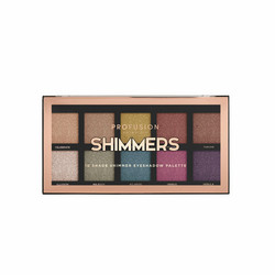 PROFUSION Shimmers 10 Shade Eyeshadow Luomiväripaletti