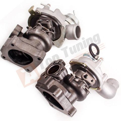 Kaksi K04-026 viritys turboahdinta 2.7T moottoriin.