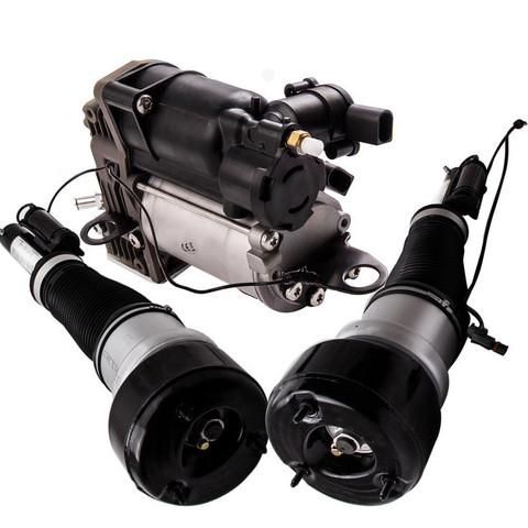 Pari W221 Airmatic Ilmajouset eteen sekä Ilmajousituksen kompressori