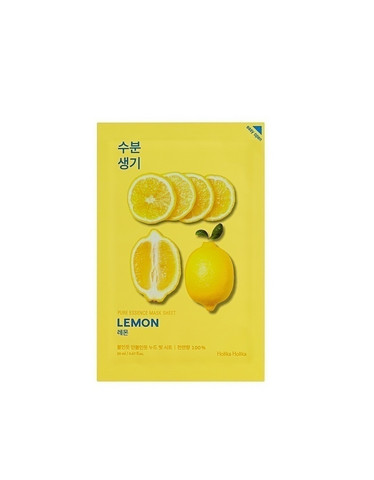 Pure Essence Mask Sheet Lemon Holika Holika