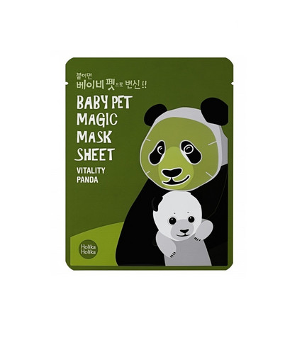 Baby Pet Magic Sheet Mask- Vitality Panda Holika Holika