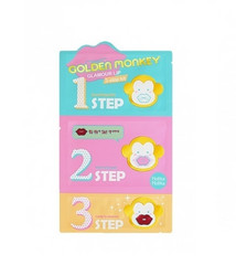 Golden Monkey Glamour Lip 3-Step Kit Holika Holika