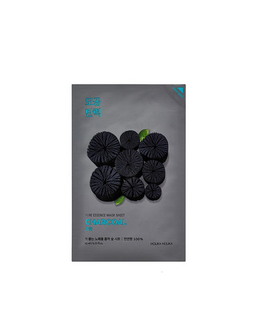 Pure Essence Sheet Mask Charcoal Holika Holika