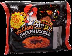 Volcano Chicken Noodle - tulinen ramen
