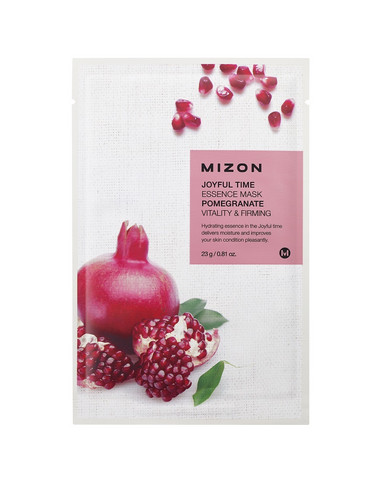 Joyful Time Essence Mask- Pomegranate Mizon