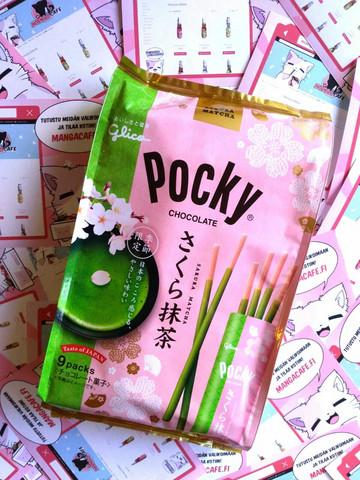 UUSI ERÄ SAAPUNUT! Pocky Sakura Matcha