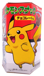 Tohato Pikachu Karamelli-suklaamaissisnack