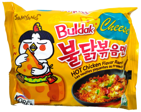 Buldak Cheese Hot Chicken Ramen - Tulinen