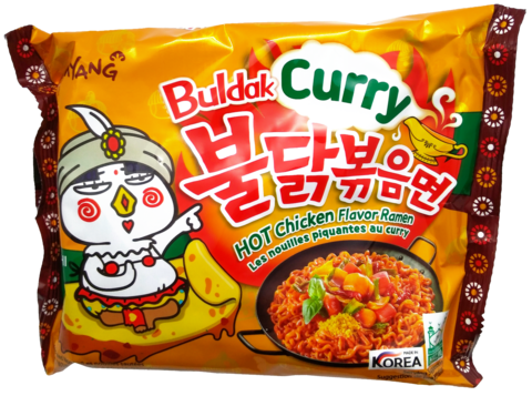Buldak Curry Hot Chicken Ramen - Tulinen