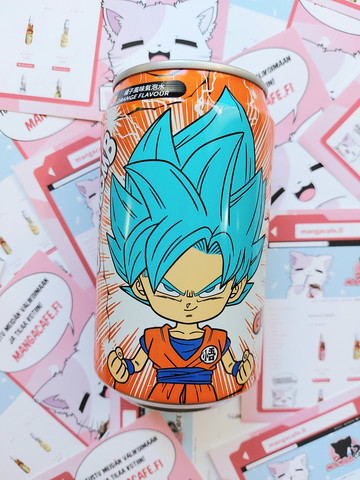 Dragon Ball Goku - Appelsiinisooda