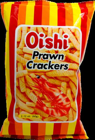Oishi Prawn Crackers - Katkarapusnack NYT ISOMPI KOKO!