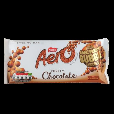 Aero Purely Chocolate Bubbles - suklaalevy