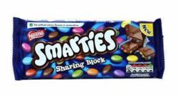 Smarties Sharing Block - Suklaalevy