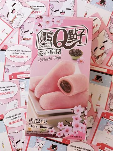 Cherry Blossoms Mochi Roll