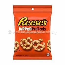 Reeses Dipped Pretzels
