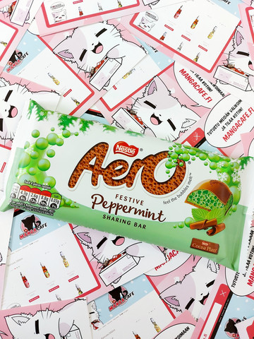 Aero Festive Peppermint Bubbles - suklaalevy