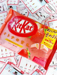 Kitkat Strawberry  Limited Edition