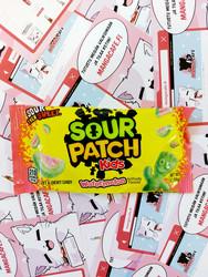 Sour Patch Kids Watermelon - kirpeät hedelmämakeiset